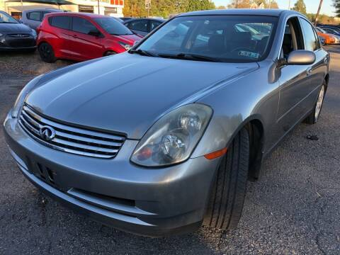 2004 Infiniti G35 for sale at Atlantic Auto Sales in Garner NC