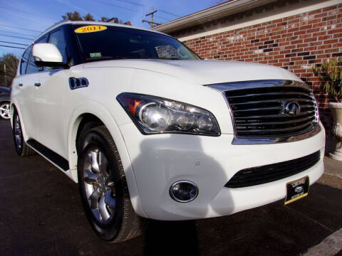 2011 Infiniti QX56 for sale at Certified Motorcars LLC in Franklin NH