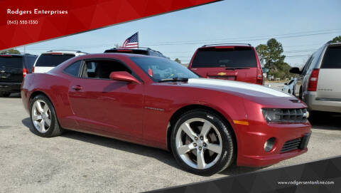 2011 Chevrolet Camaro for sale at Rodgers Enterprises in North Charleston SC