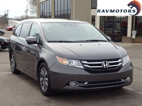2015 Honda Odyssey for sale at RAVMOTORS 2 in Crystal MN