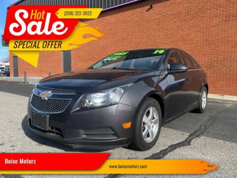 2014 Chevrolet Cruze for sale at Boise Motorz in Boise ID