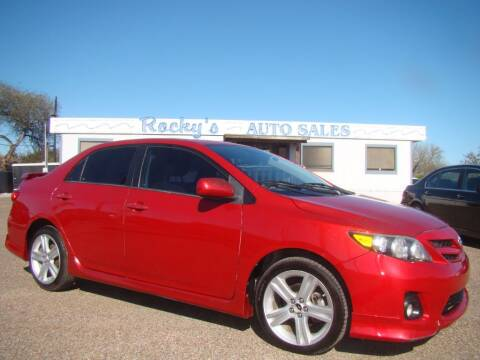 2013 Toyota Corolla for sale at Rocky's Auto Sales in Corpus Christi TX