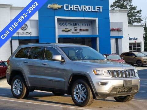 2018 Jeep Grand Cherokee for sale at PHIL SMITH AUTOMOTIVE GROUP - SOUTHERN PINES GM in Southern Pines NC