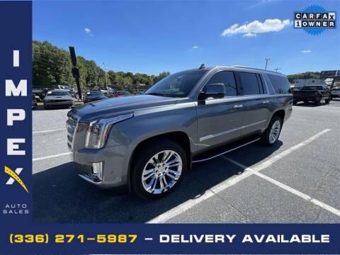 2020 Cadillac Escalade ESV for sale at Impex Auto Sales in Greensboro NC