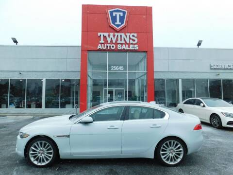 2017 Jaguar XE for sale at Twins Auto Sales Inc Redford 1 in Redford MI