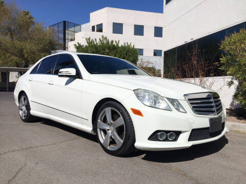 2010 Mercedes-Benz E-Class for sale at Nevada Credit Save in Las Vegas NV