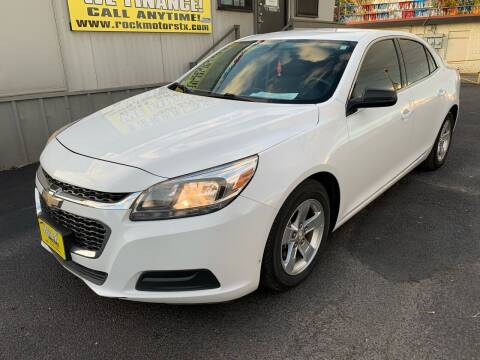 2016 Chevrolet Malibu Limited for sale at Rock Motors LLC in Victoria TX