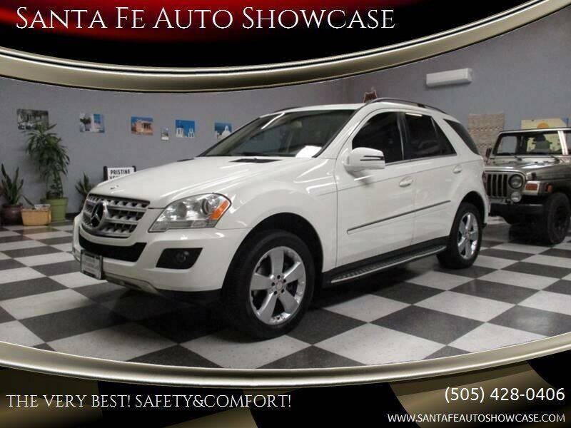 2011 Mercedes-Benz M-Class for sale at Santa Fe Auto Showcase in Santa Fe NM