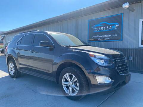 2016 Chevrolet Equinox for sale at FAST LANE AUTOS in Spearfish SD