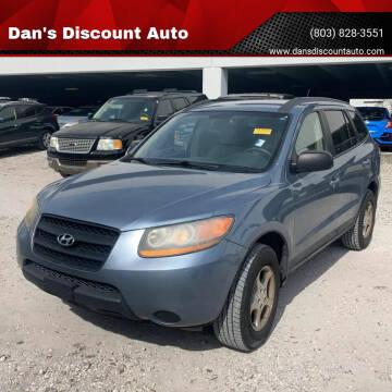 2009 Hyundai Santa Fe for sale at Dan's Discount Auto in Gaston SC