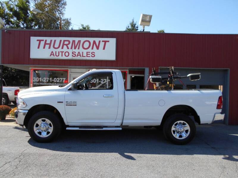 2014 RAM Ram Pickup 2500 for sale at THURMONT AUTO SALES in Thurmont MD