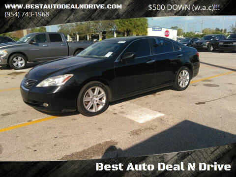 2007 Lexus ES 350 for sale at Best Auto Deal N Drive in Hollywood FL