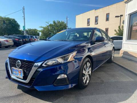 2019 Nissan Altima for sale at ADAM AUTO AGENCY in Rensselaer NY