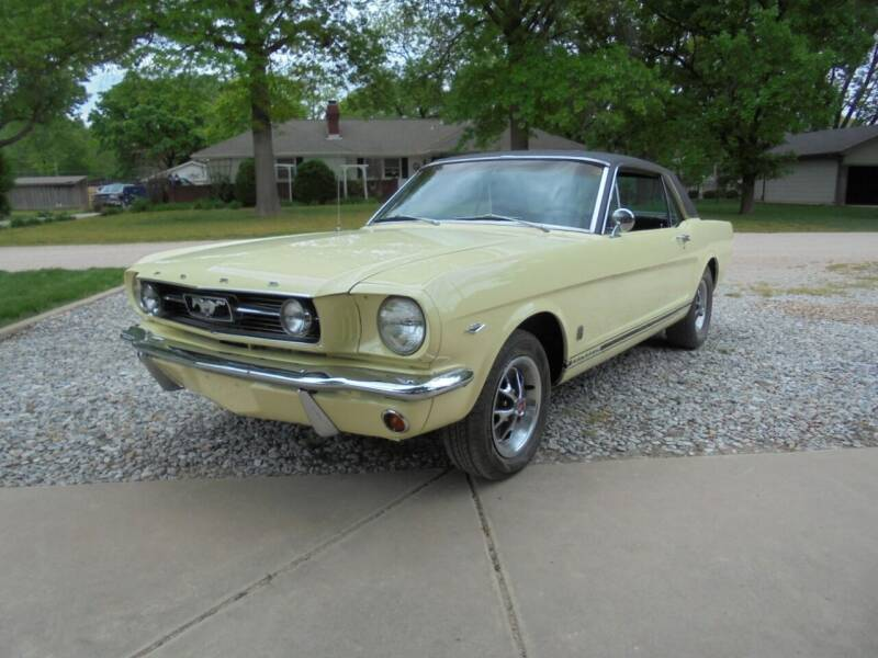 1966 Ford Mustang for sale at D & P Sales LLC in Wichita KS