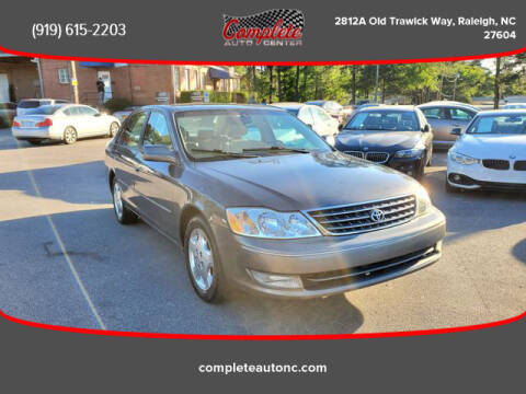 2004 Toyota Avalon for sale at Complete Auto Center , Inc in Raleigh NC
