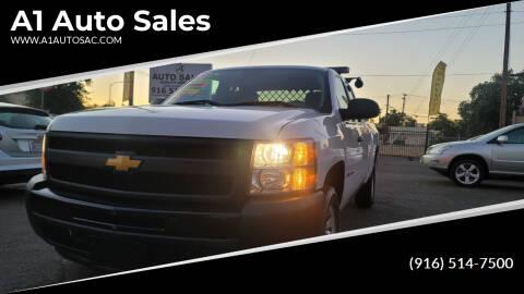 2013 Chevrolet Silverado 1500 for sale at A1 Auto Sales in Sacramento CA