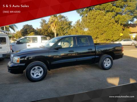 2006 Dodge Dakota for sale at S & S Auto Sales in La  Habra CA