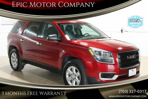 2013 GMC Acadia for sale at Epic Motor Company in Chantilly VA
