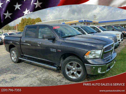 2018 RAM Ram Pickup 1500 for sale at Paris Auto Sales & Service in Big Rapids MI