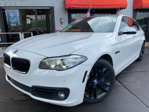2014 BMW 5 Series for sale at MATRIX AUTO SALES INC in Miami FL