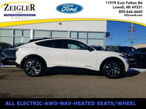 2021 Ford Mustang Mach-E for sale at Zeigler Ford of Plainwell- Jeff Bishop in Plainwell MI