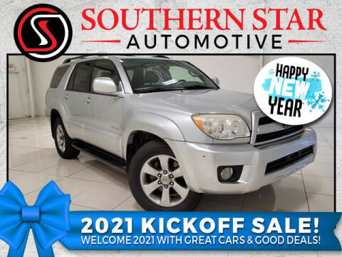 2007 Toyota 4Runner for sale at Southern Star Automotive, Inc. in Duluth GA