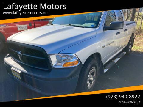 2012 RAM Ram Pickup 1500 for sale at Lafayette Motors in Lafayette NJ
