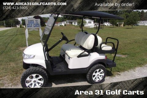 2015 Club Car Precedent Lifted Gas EFI for sale at Area 31 Golf Carts - Gas 4 Passenger in Acme PA