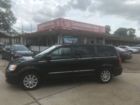 2013 Chrysler Town and Country for sale at LA Auto Sales in Monroe LA