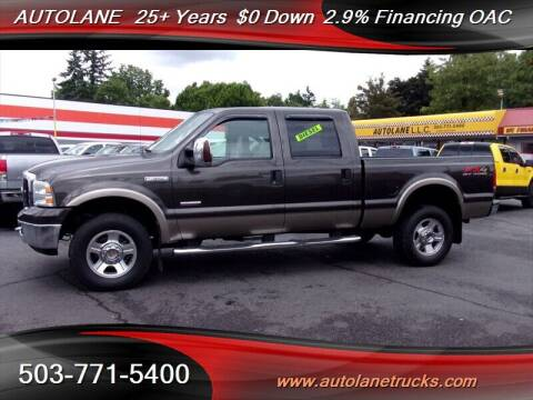 2007 Ford F-350 Super Duty for sale at Auto Lane in Portland OR