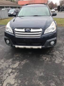 2014 Subaru Outback for sale at GDT AUTOMOTIVE LLC in Hopewell NY