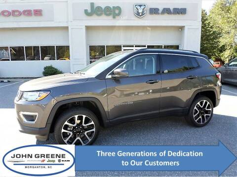 2018 Jeep Compass for sale at John Greene Chrysler Dodge Jeep Ram in Morganton NC
