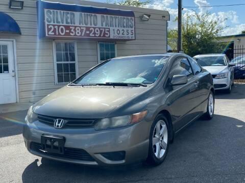 2008 Honda Civic for sale at Silver Auto Partners in San Antonio TX