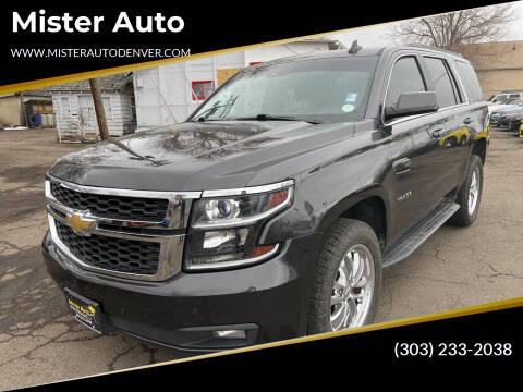 2016 Chevrolet Tahoe for sale at Mister Auto in Lakewood CO
