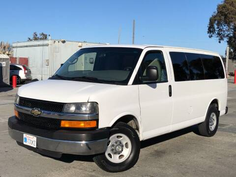 2012 Chevrolet Express Passenger for sale at CITY MOTOR SALES in San Francisco CA