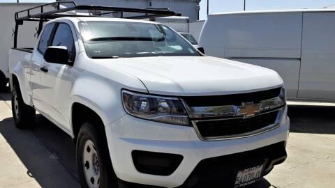 2018 Chevrolet Colorado for sale at DOYONDA AUTO SALES in Pomona CA