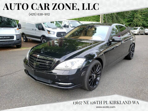 2010 Mercedes-Benz S-Class for sale at Auto Car Zone, LLC in Kirkland WA