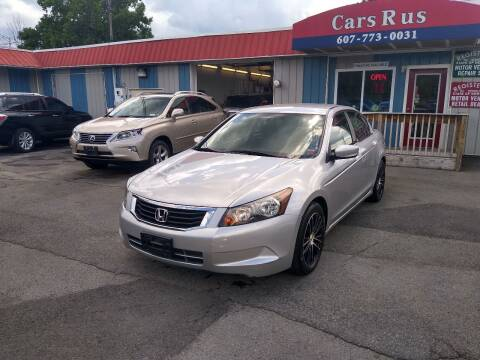 2009 Honda Accord for sale at Cars R Us in Binghamton NY