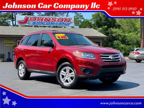 2012 Hyundai Santa Fe for sale at Johnson Car Company llc in Crown Point IN
