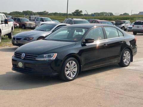 2015 Volkswagen Jetta for sale at Casey's Auto Detailing & Sales in Lincoln NE