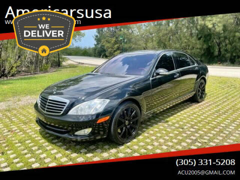 2009 Mercedes-Benz S-Class for sale at Americarsusa in Hollywood FL