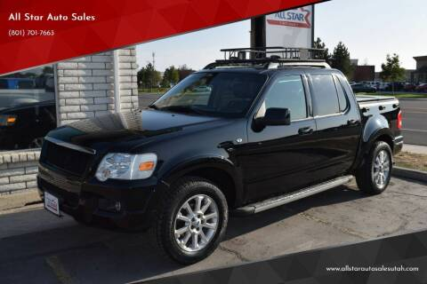2007 Ford Explorer Sport Trac for sale at All Star Auto Sales in Pleasant Grove UT