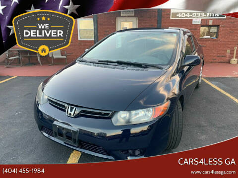 2008 Honda Civic for sale at Cars4Less GA in Alpharetta GA