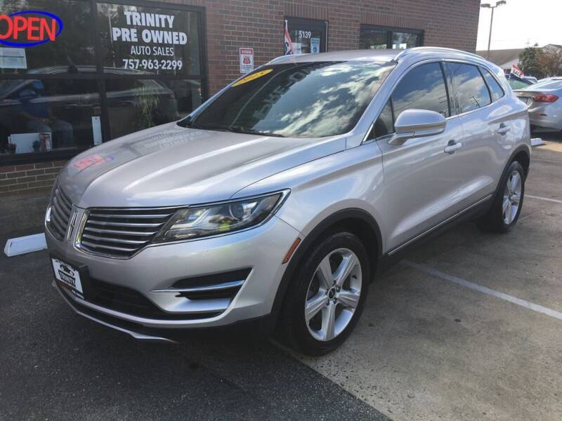 2015 Lincoln MKC for sale at Bankruptcy Car Financing in Norfolk VA