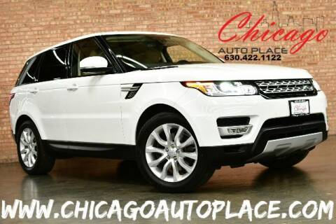 2016 Land Rover Range Rover Sport for sale at Chicago Auto Place in Bensenville IL