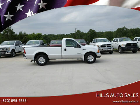 2001 Ford F-250 Super Duty for sale at Hills Auto Sales in Salem AR