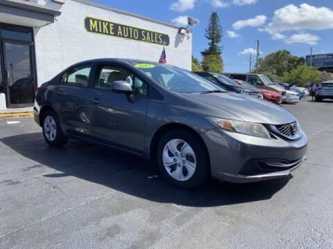 2013 Honda Civic for sale at Mike Auto Sales in West Palm Beach FL