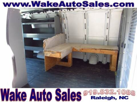 2015 Chevrolet Express Cargo for sale at Wake Auto Sales Inc in Raleigh NC