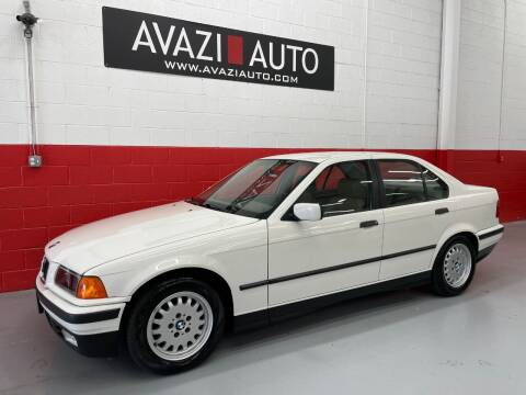 1993 BMW 3 Series for sale at AVAZI AUTO GROUP LLC in Gaithersburg MD