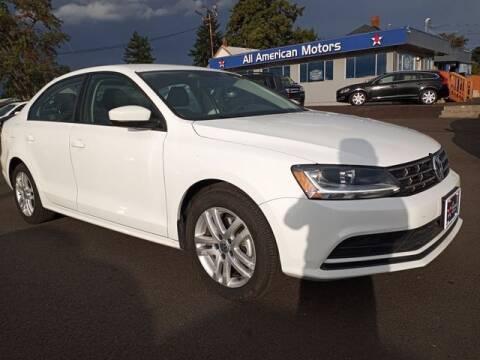 2018 Volkswagen Jetta for sale at All American Motors in Tacoma WA
